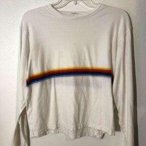 Cute Rainbow Striped Long Sleeve!